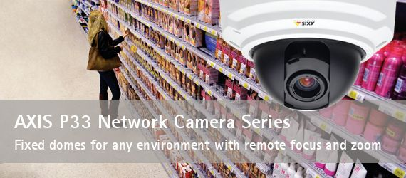 fixed dome IP camera axis
